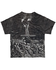 Satan shirt satanic lucifer devil shirt  All-over T-Shirt back