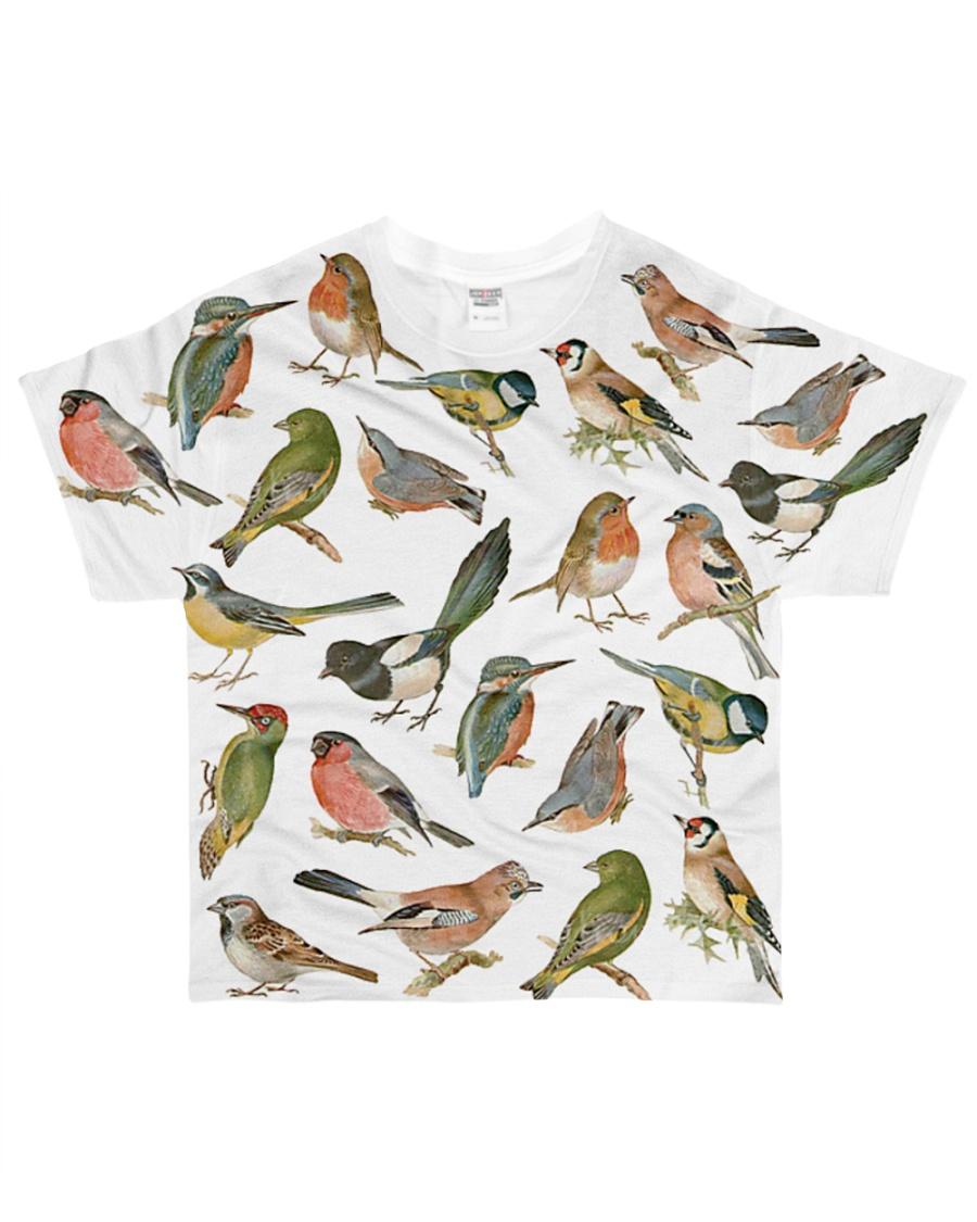 Bird I love birds All-over T-Shirt