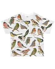 Bird I love birds All-over T-Shirt front