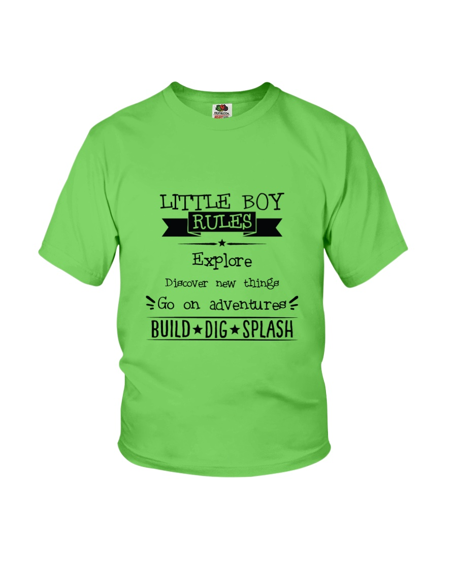 LITTLE BOY RULES Youth T-Shirt