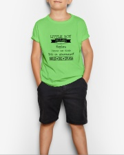 LITTLE BOY RULES Youth T-Shirt lifestyle-youth-tshirt-front-1