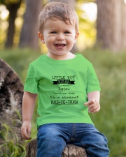 LITTLE BOY RULES Youth T-Shirt lifestyle-youth-tshirt-front-4