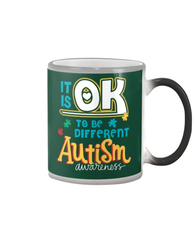 Autism Awareness - It's ok to be different