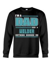 DAD AND WELDER JOB SHIRTS Crewneck Sweatshirt thumbnail