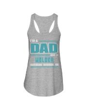 DAD AND WELDER JOB SHIRTS Ladies Flowy Tank thumbnail