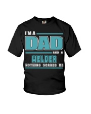 DAD AND WELDER JOB SHIRTS Youth T-Shirt thumbnail