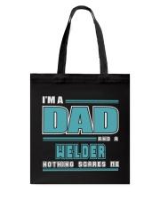 DAD AND WELDER JOB SHIRTS Tote Bag thumbnail