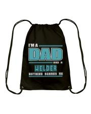 DAD AND WELDER JOB SHIRTS Drawstring Bag thumbnail