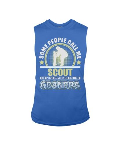 CALL ME SCOUT GRANDPA JOB SHIRTS