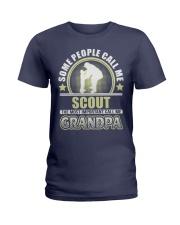 CALL ME SCOUT GRANDPA JOB SHIRTS Ladies T-Shirt front
