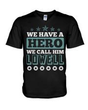 We Have a Hero Call LOWELL Shirts V-Neck T-Shirt thumbnail