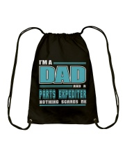 DAD AND PARTS EXPEDITER JOB SHIRTS Drawstring Bag thumbnail