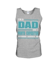 DAD AND PARTS EXPEDITER JOB SHIRTS Unisex Tank thumbnail