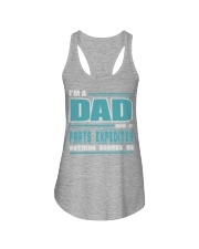 DAD AND PARTS EXPEDITER JOB SHIRTS Ladies Flowy Tank thumbnail