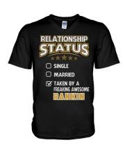 TAKEN BY RANKIN THING SHIRTS V-Neck T-Shirt thumbnail