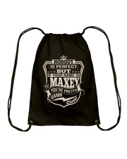 NOBODY PERFECT MAXEY THING SHIRTS Drawstring Bag thumbnail
