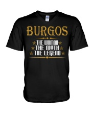 BURGOS The Woman The Myth The Legend Thing Shirts V-Neck T-Shirt thumbnail