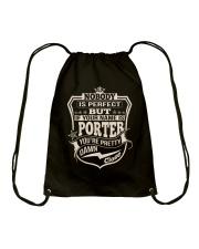 NOBODY PERFECT PORTER THING SHIRTS Drawstring Bag thumbnail