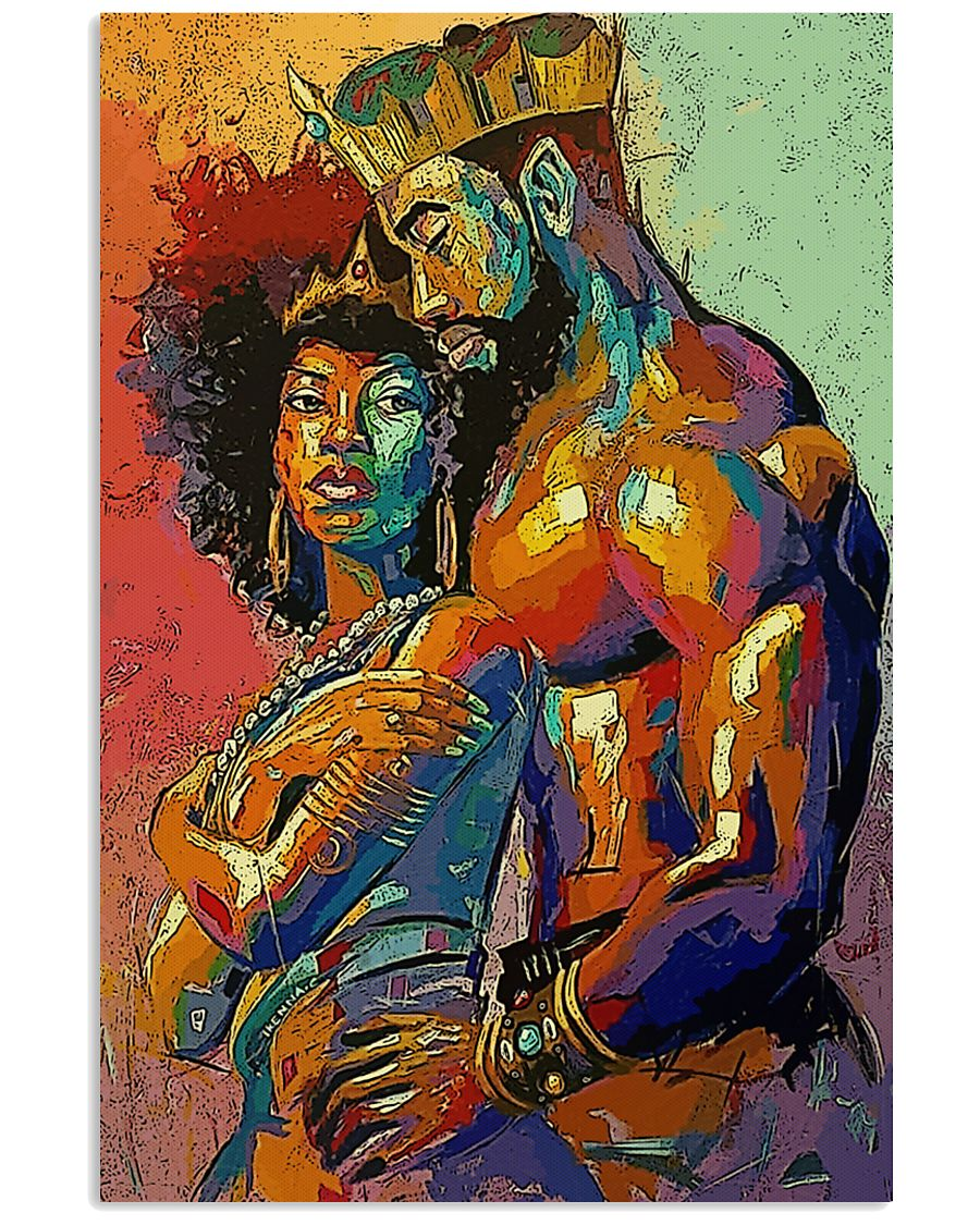 MELANIN QUEEN and KING 11x17 Poster