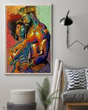 MELANIN QUEEN and KING 11x17 Poster lifestyle-poster-1