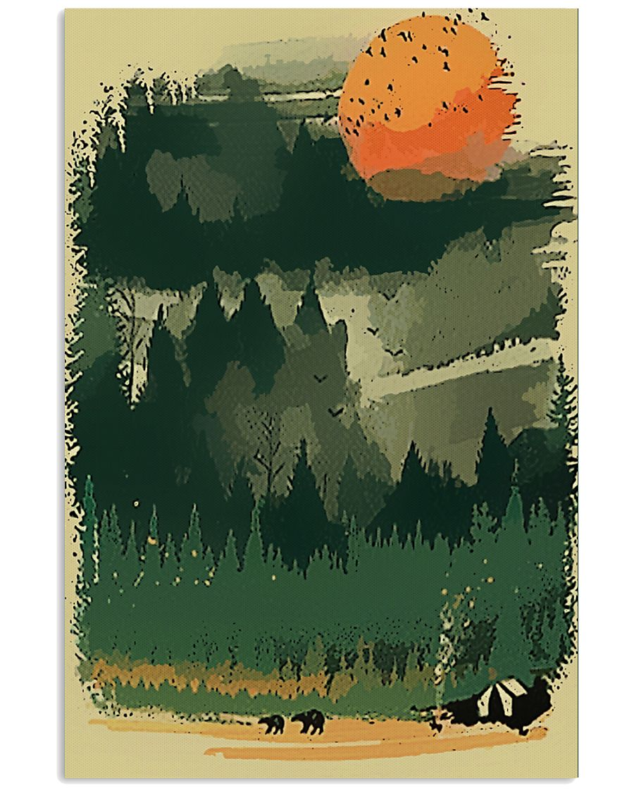 I LOVE CAMPING 11x17 Poster