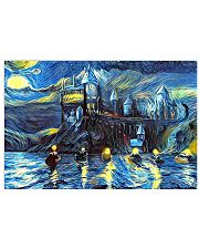 Starry Night Boats 17x11 Poster front