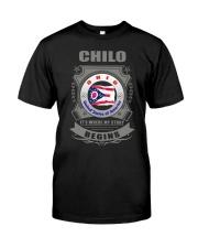 I love Chilo-OH flag gifts Shirt Classic T-Shirt thumbnail