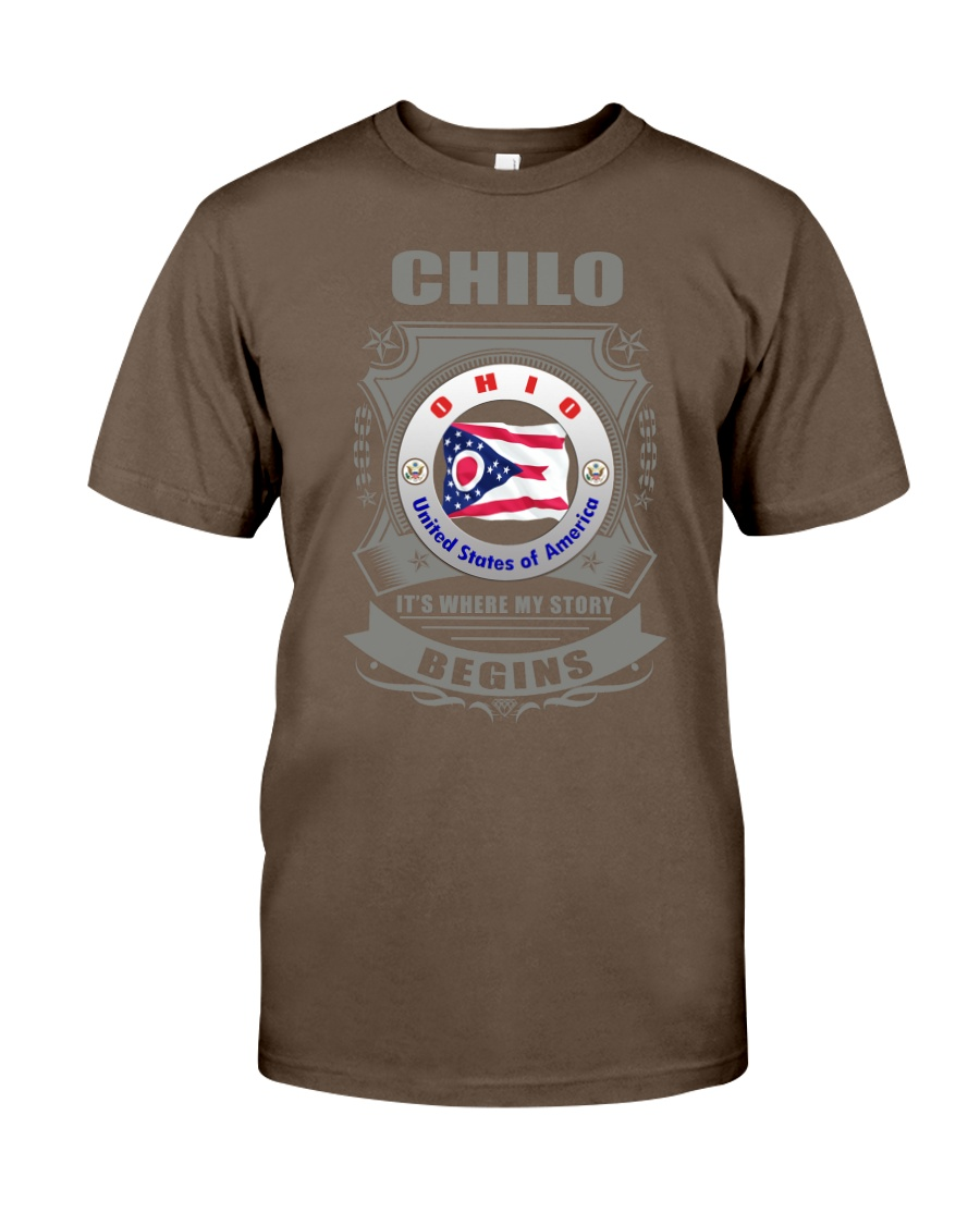 I love Chilo-OH flag gifts Shirt Classic T-Shirt