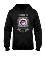 I love Chilo-OH flag gifts Shirt Hooded Sweatshirt thumbnail