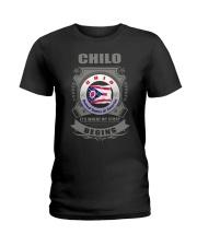 I love Chilo-OH flag gifts Shirt Ladies T-Shirt thumbnail