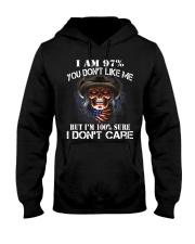 I AM 100 SURE I DONT CARE Hooded Sweatshirt thumbnail