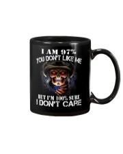 I AM 100 SURE I DONT CARE Mug thumbnail