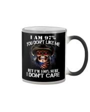 I AM 100 SURE I DONT CARE Color Changing Mug thumbnail