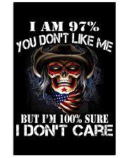 I AM 100 SURE I DONT CARE 11x17 Poster thumbnail