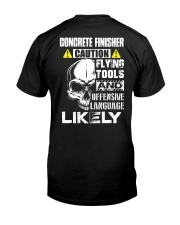 Concrete Finisher Skull Classic T-Shirt thumbnail