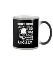Concrete Finisher Skull Color Changing Mug thumbnail
