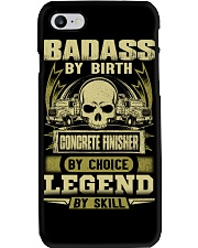 Badass By Birth Concrete Finisher By Choicce legen Phone Case thumbnail