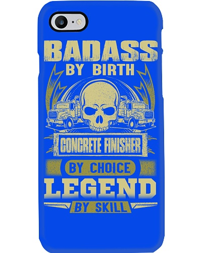 Badass By Birth Concrete Finisher By Choicce legen