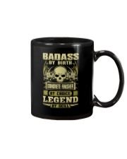 Badass By Birth Concrete Finisher By Choicce legen Mug thumbnail