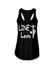 Line Love Ladies Flowy Tank thumbnail