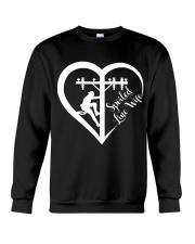 Spoiled Line Wife Crewneck Sweatshirt thumbnail