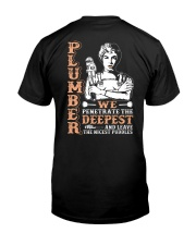 Plumber We Penetrate The Deepest Classic T-Shirt thumbnail