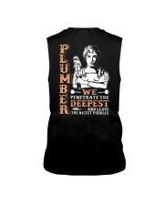 Plumber We Penetrate The Deepest Sleeveless Tee thumbnail