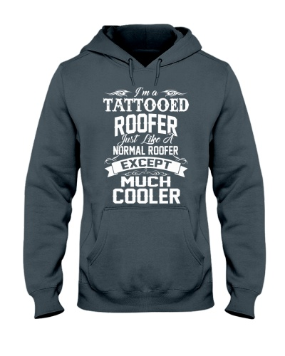 I'm a tattooed Roofer