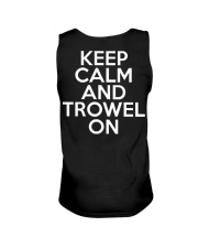 Keep Calm And Trowel On Unisex Tank thumbnail