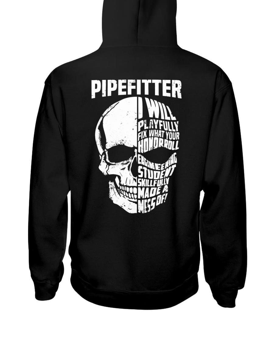 Pipefitter Skull Hooded Sweatshirt