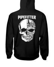 Pipefitter Skull Hooded Sweatshirt back