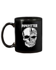 Pipefitter Skull Mug back