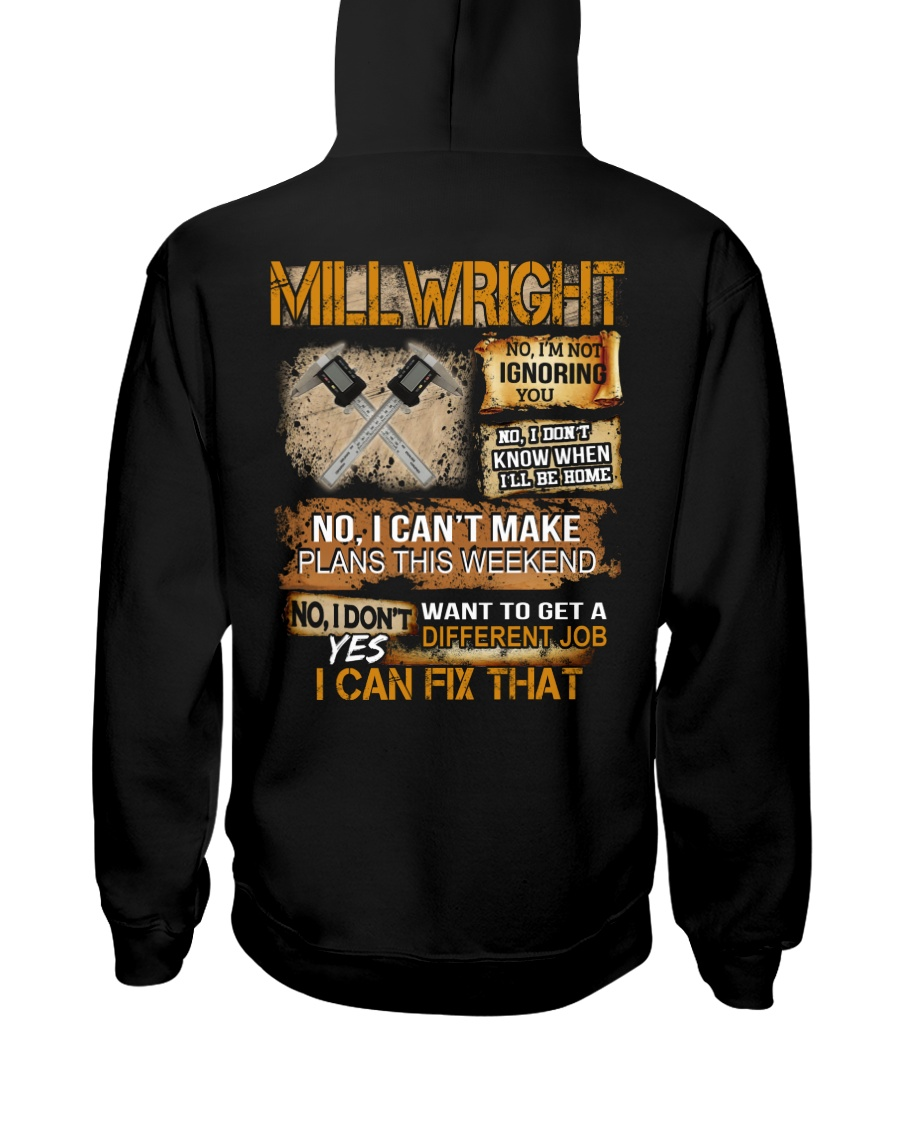 Millwright I Can Fix That Hooded Sweatshirt