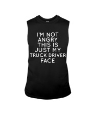 I'm Not Angry This Is just My Truck Driver Face Sleeveless Tee thumbnail
